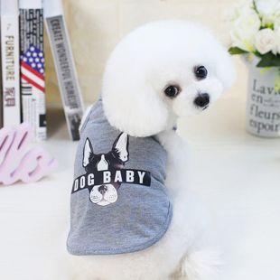 PAW COUTURE футболка для собак размер L,серая