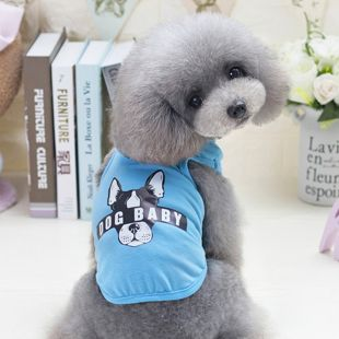 PAW COUTURE футболка для собак размер S, синяя