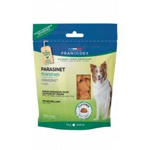 FRANCODEX Täiendtoit koertele kaitseks parasiitide eest 75 g