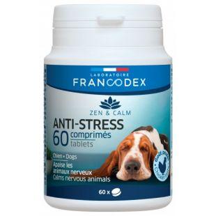FRANCODEX Пищевая добавка для собак , помогающая бороться со стрессом 60 таб.