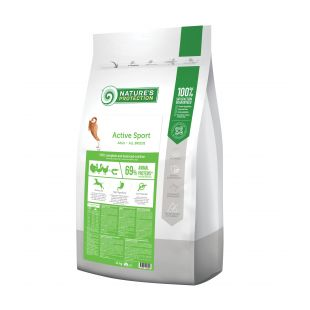NATURE'S PROTECTION Kuivtoit koertele Active Sport All breeds Adult Poultry with krill 12 kg x 2