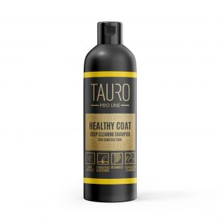 TAURO PRO LINE Healthy Coat deep cleaning shampoo шампунь для собак и кошек 250 мл