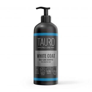 TAURO PRO LINE White Coat Daily Care Shampoo šampoon koertele ja kassidele 1000 ml
