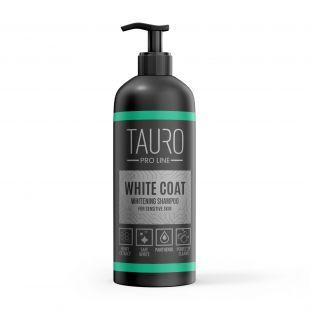 TAURO PRO LINE White Coat Whitening Shampoo Шампунь для собак и кошек 1000 мл